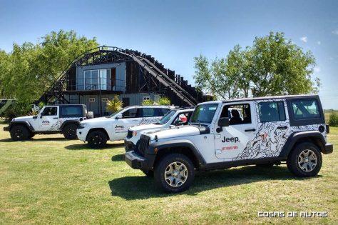 Gama Jeep en Off Road Park de Pinamar