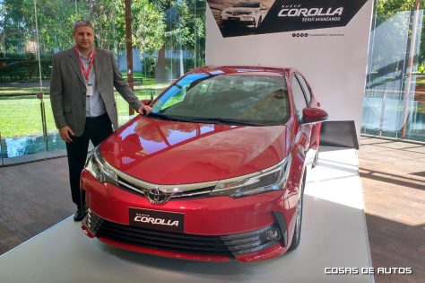 Juan Pablo Grano y el Nuevo Corolla