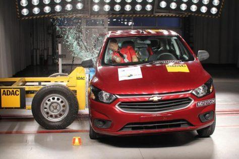 LatinNCAP Chevrolet Onix 2017