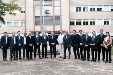 FCA recibió en Córdoba a las autoridades del Ministerio de Producción