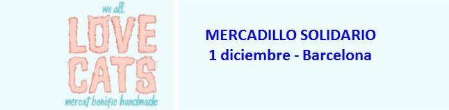 mercadillo solidario we love cats market