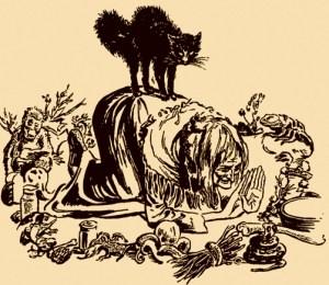 En la Edad Media, los gatos y las brujas eran quemados cruelmente