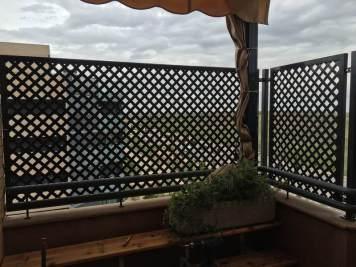 Celosías para proteger balcones y terrazas