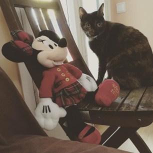 Conxa y Minnie Mouse