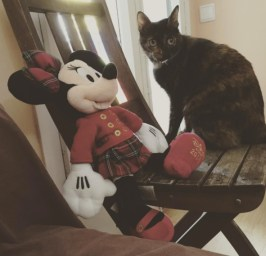 Conxa y Minnie Mouse