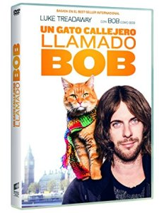 DVD película Un gato callejero llamado Bob