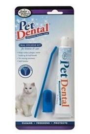 Pack dental de cepillado de dientes para gatos
