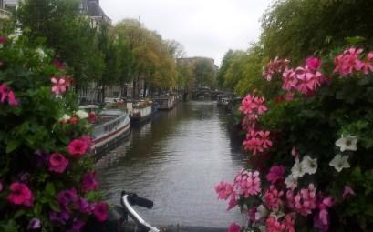 Viajando a Ámsterdam
