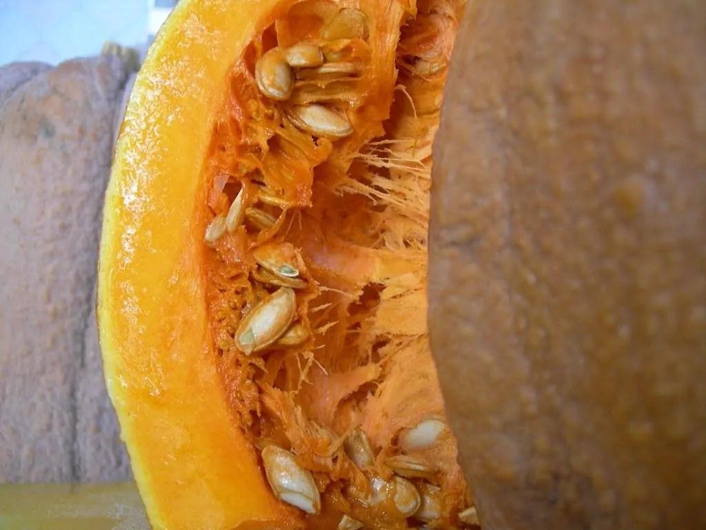 Vellutata di zucca con radicchio caramellato