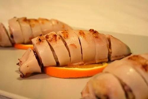 Calamari Ripieni agli agrumi scampati alla formattazione
