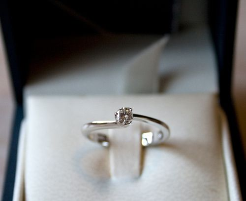 il mio anello che si chiama sì