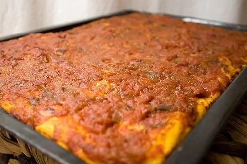 teglia di Pizza delle Madonie