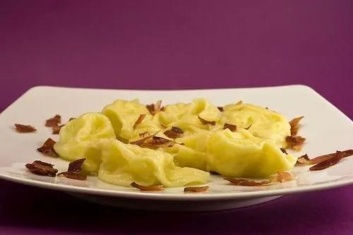 Tortelli ripieni di patate e Monte Veronese: La prossima potrebbero essere semplici triangolini…