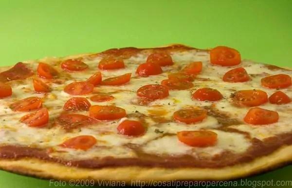 Pizza margherita!