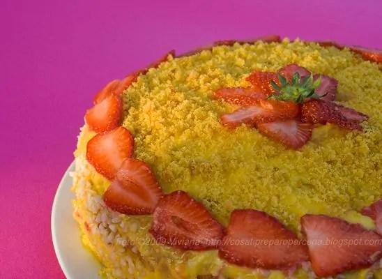 torta paradiso all'arancia
