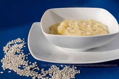 minestra con riso verze e patate