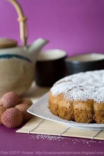 torta allo zenzero al vapore