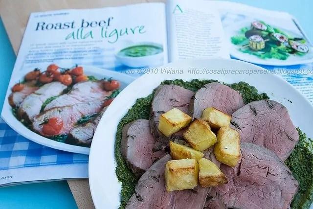 Roast beef alla ligure di pag 92