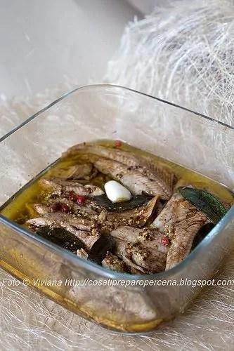 trote marinate all'aceto balsamico