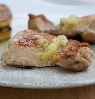 Pollo allo Zenzero. Questa sera a cena una ricetta facile facile…