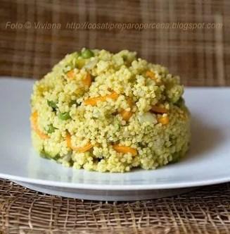 miglio in padella con verdure