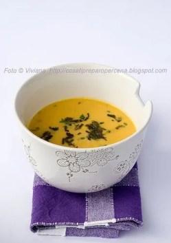 zuppa di cocco e zucca