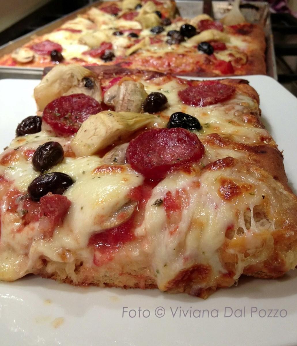 pizza e sfincione