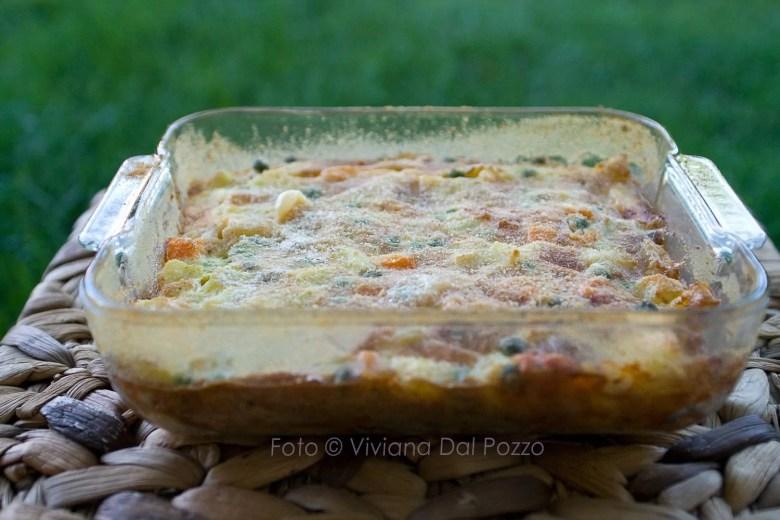 frittata al forno con patate e verdure
