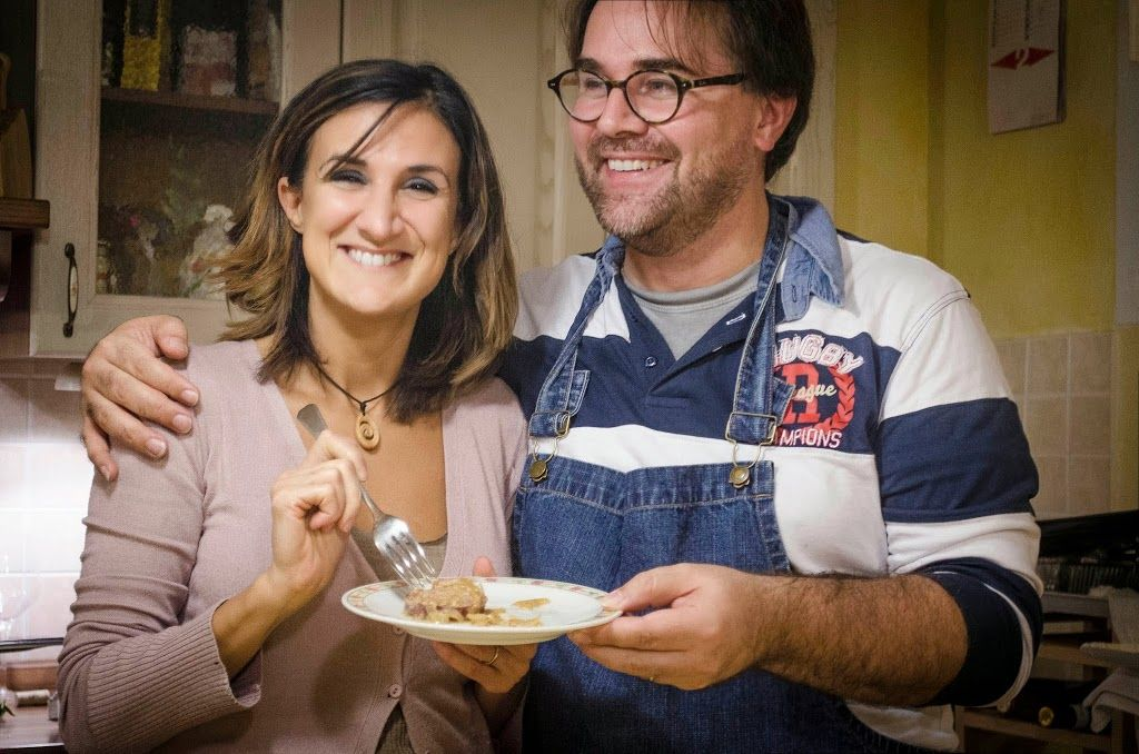 cena friulana preparata da Viviana e Giuliano
