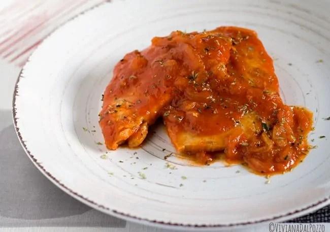 Il Pesce Spada alla Pizzaiola condito di Ricordi
