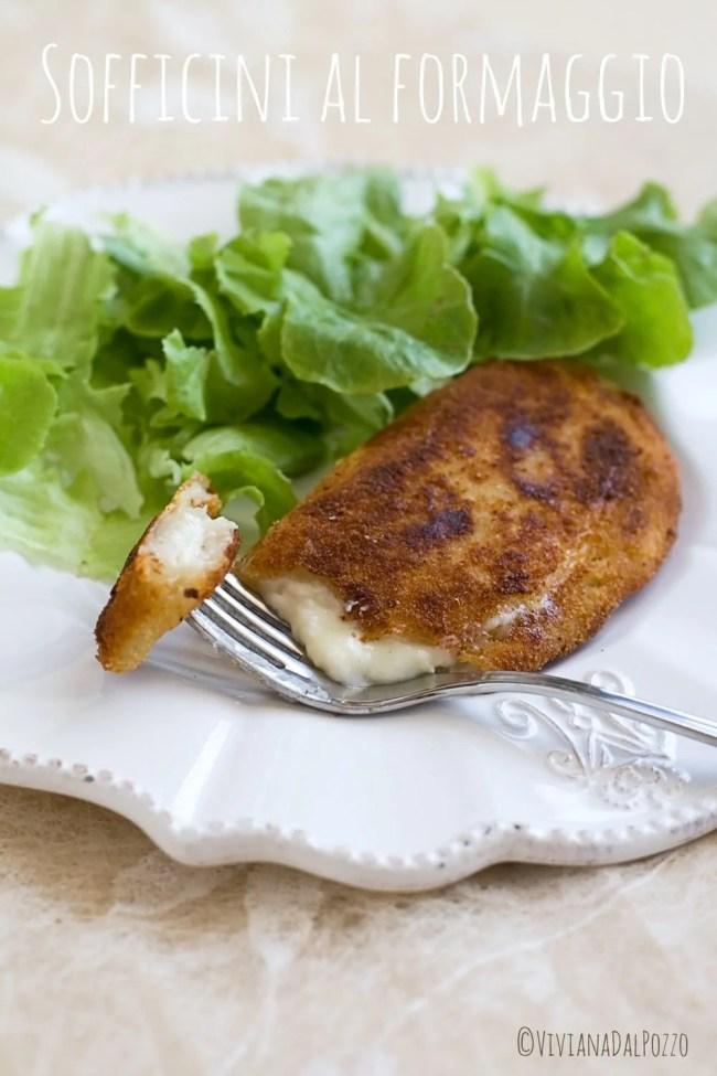 sofficini al formaggio fatti in casa