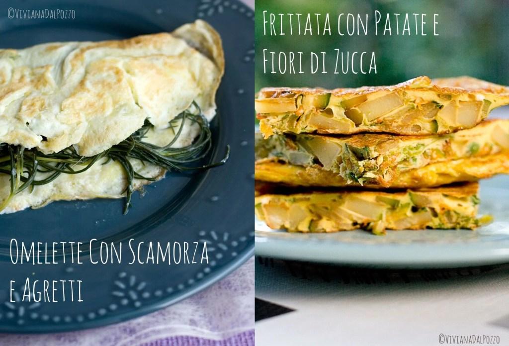 differenza tra omelette e frittata