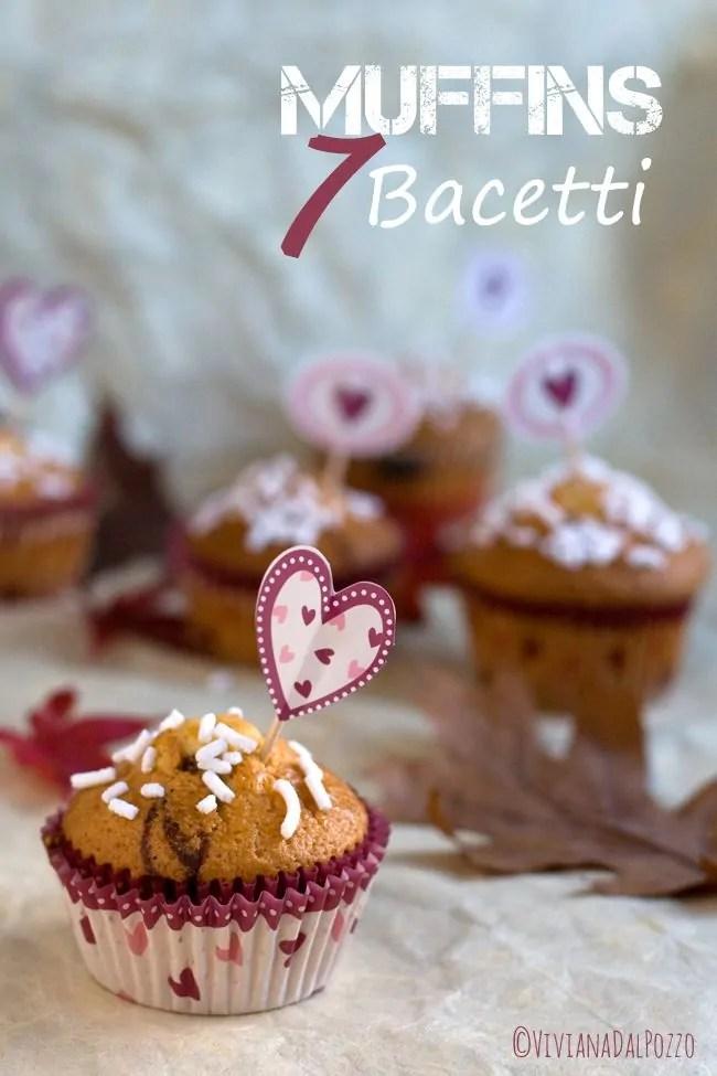 Muffins sette vasetti