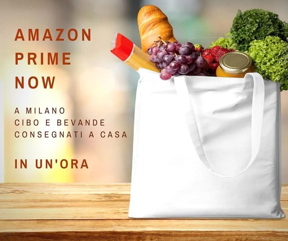 Prime Now, ovvero: se siete a Milano c'è una soluzione!
