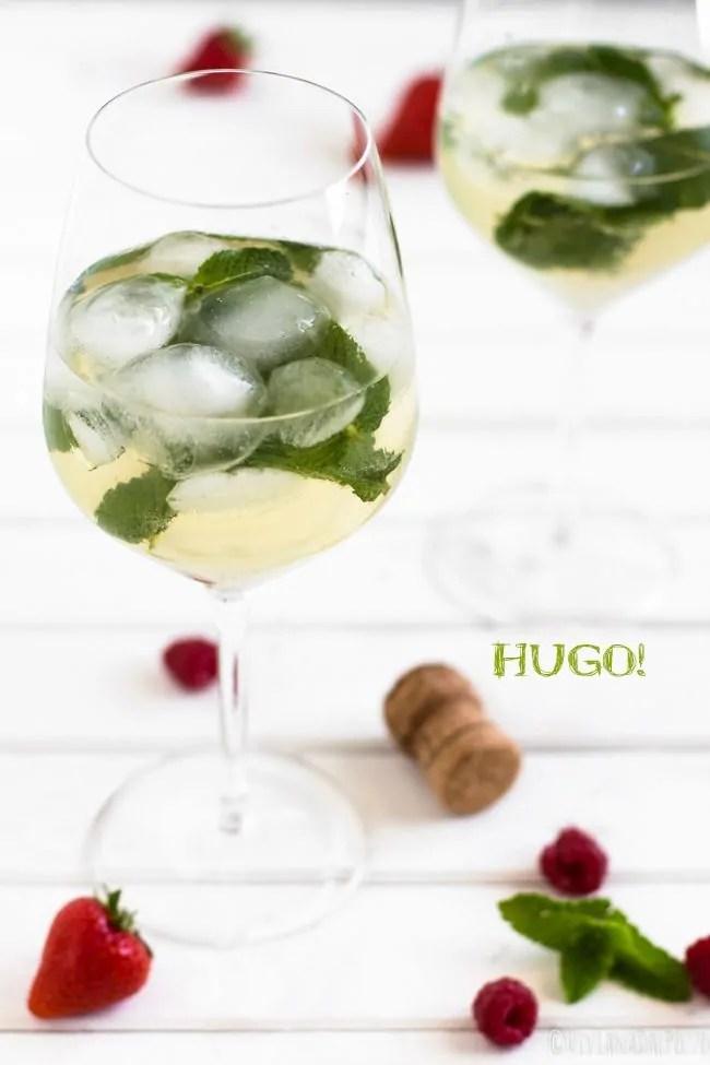 hugo cocktail drink aperitivo