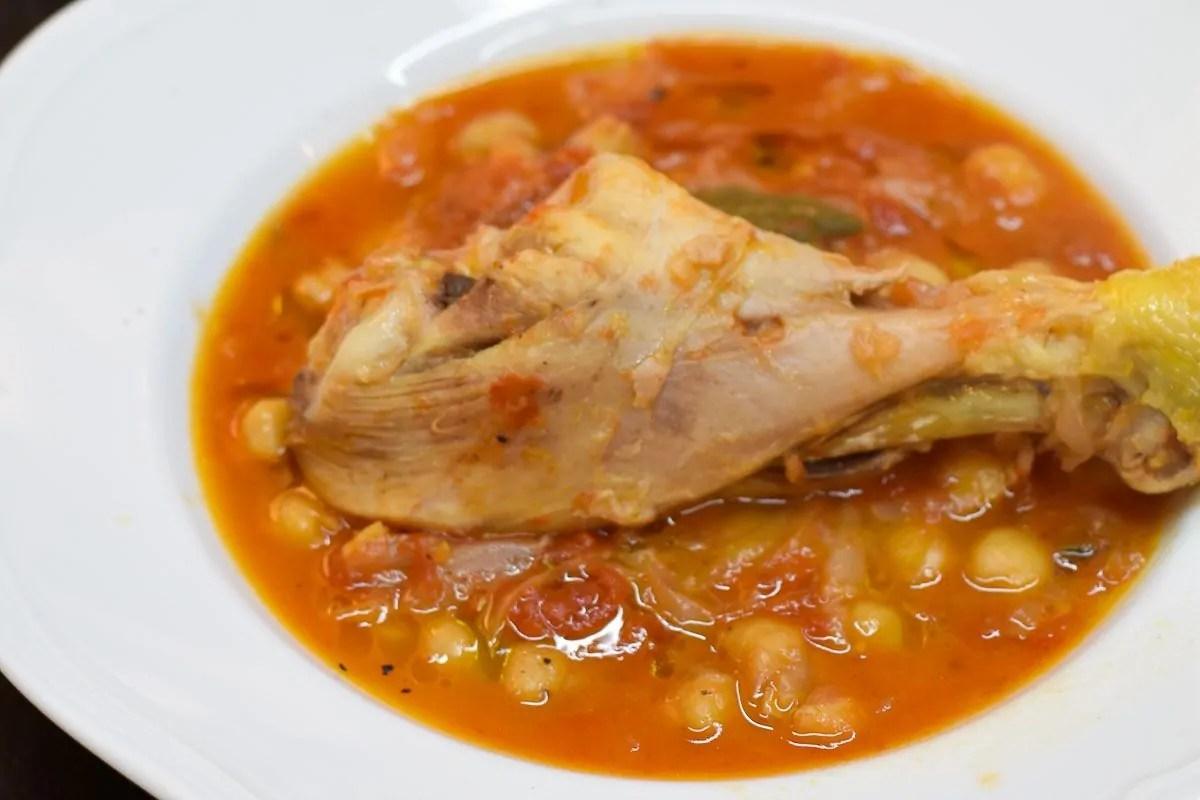 Pollo e Ceci, la ricetta del Cuore di Rachy ♥