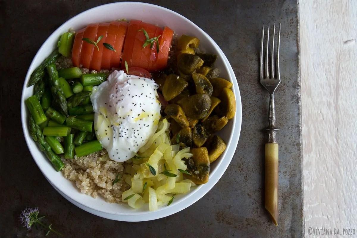 Pranzo Ufficio Vegano : Insalata di quinoa e la pausa pranzo in ufficio è servita cosa
