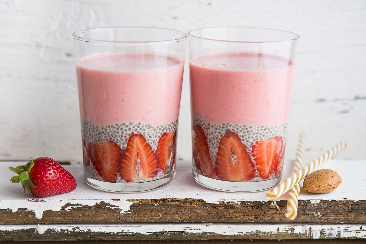 smoothie chia pudding