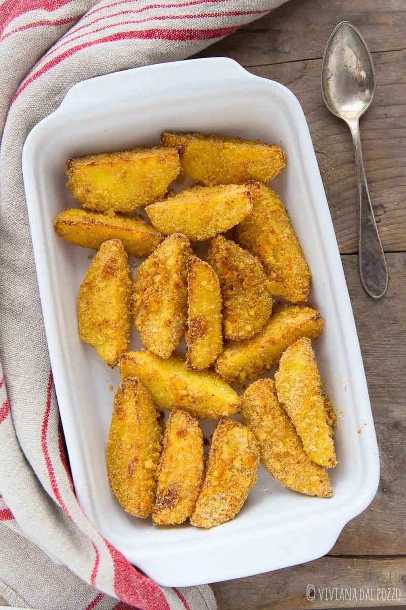 patate al forno croccanti sabbiose
