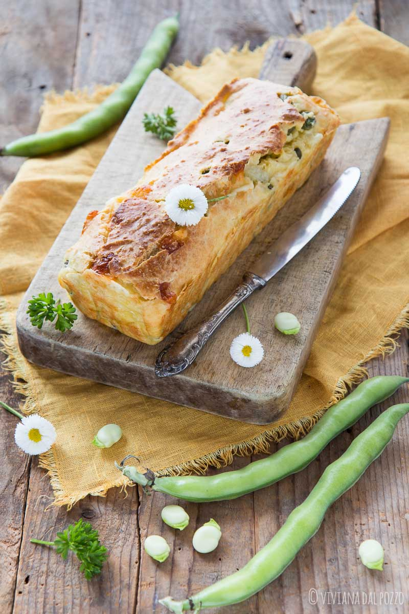 plumcake salato con verdure