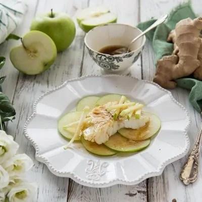 baccalà freddo con mele