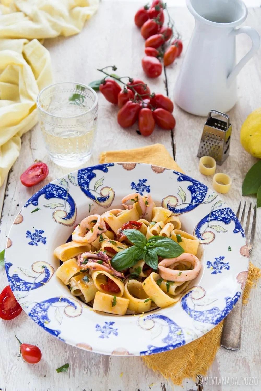 La ricetta della buonissima calamarata