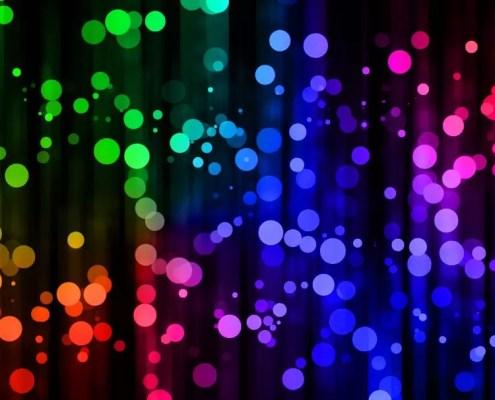luci sfocate