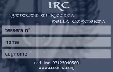 Diventa Socio IRC
