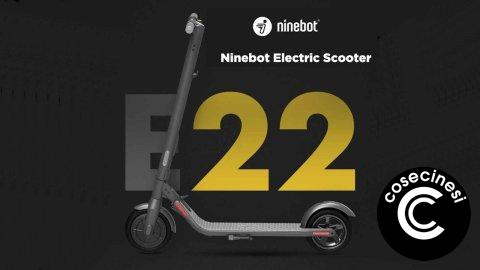 Coupon  Xiaomi Ninebot E22 Folding Electric Scooter Banggood