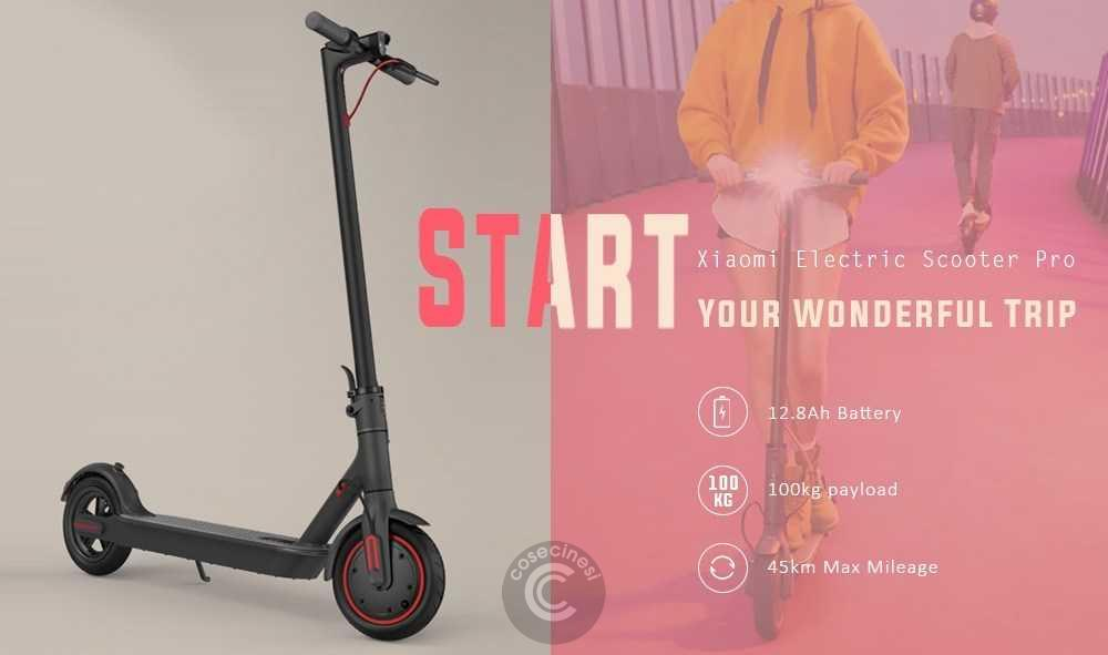 Codice sconto coupon  Xiaomi Electric Scooter Pro [Czech Warehouse]