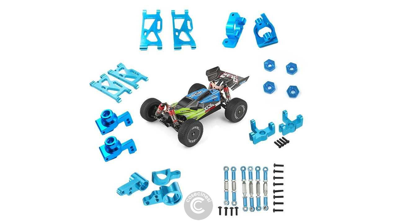 Codice sconto coupon Wltoys 144001 1/14 Upgrade Metal RC Car Parts Banggood Coupon [Czech Warehouse]
