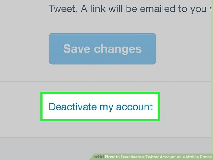 accounts deactivation