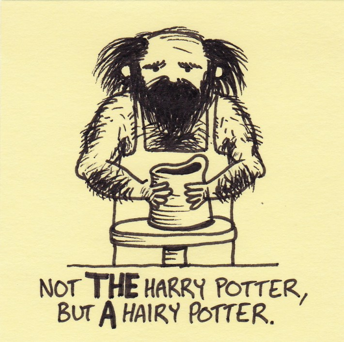 """""""HairyPotter"""" with beard"""