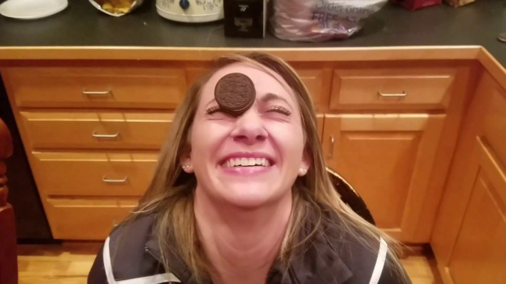 Oreo Face Challenge